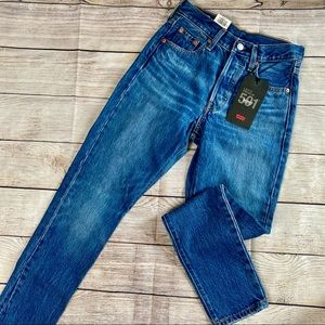 Levis High Rise Skinny Leg Jeans NWT